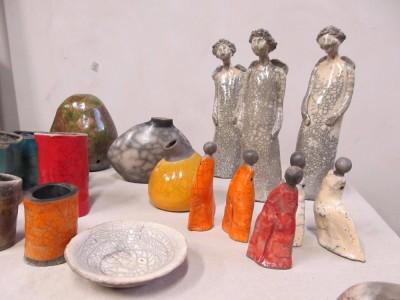 Kurz keramiky Raku - Litomyšl 2017