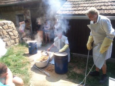Keramika Raku - první pálení