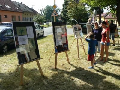 Výstava u Kaple sv. Anny 2013